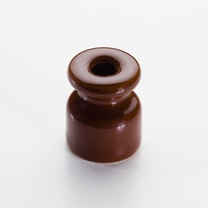 Insulator chocolate brown - Retro Insulators